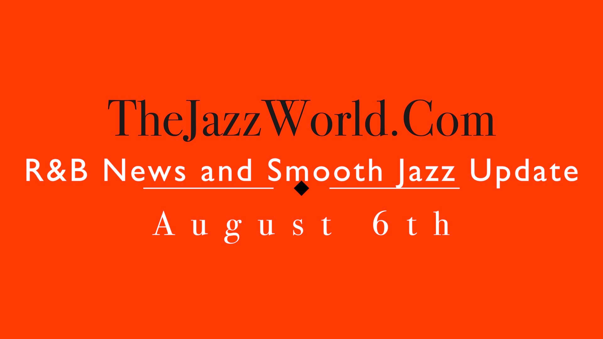 The Jazz World Show 8:6