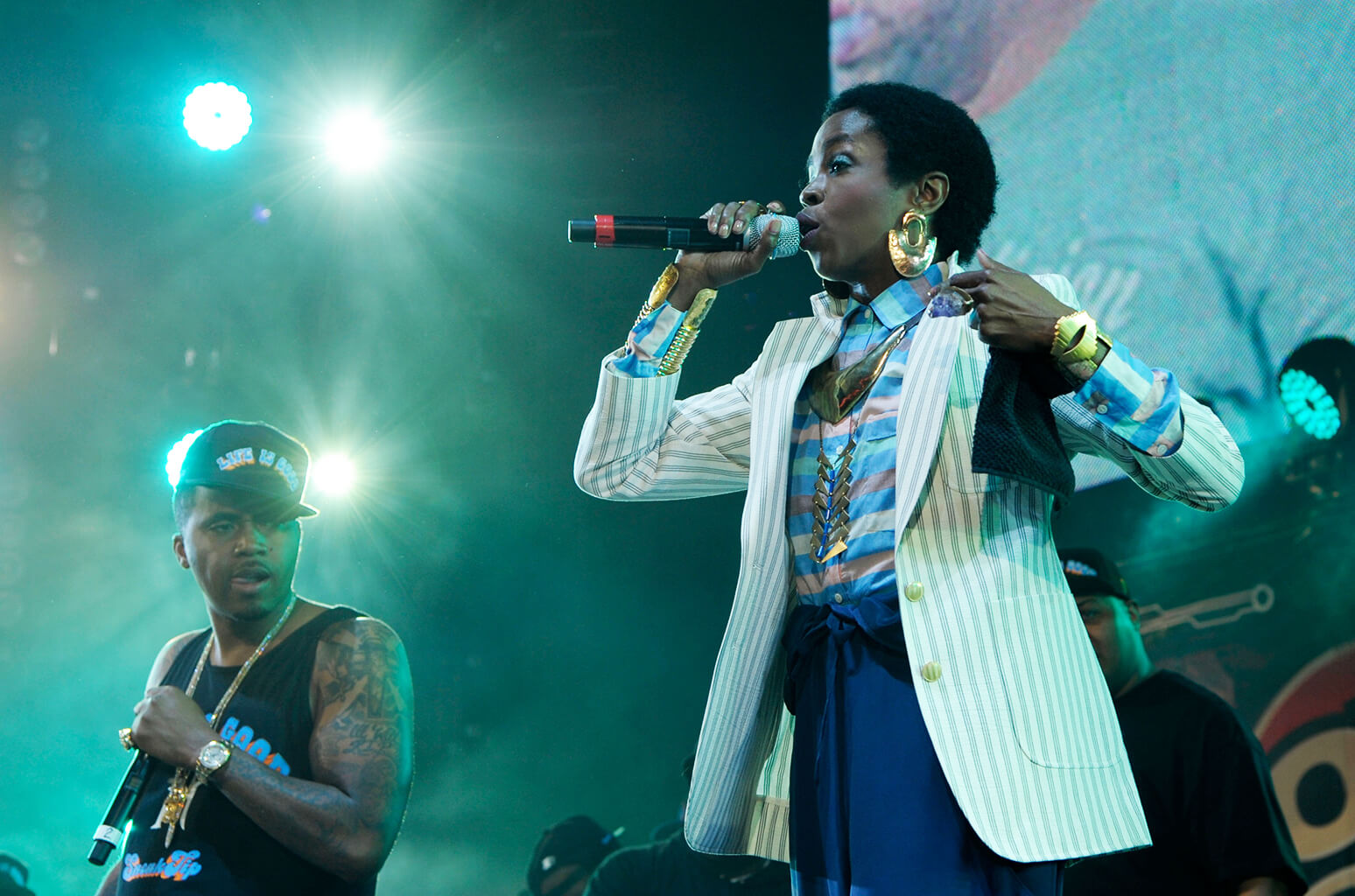 Lauryn Hill & Nas Co-Headlining Tour