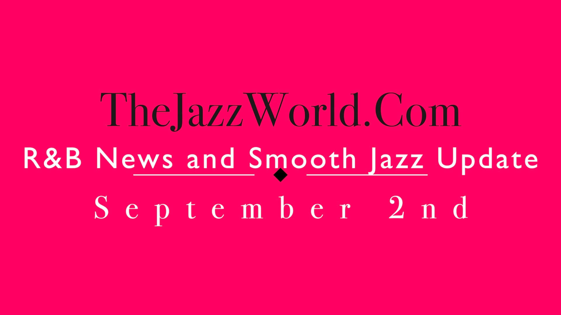 The Jazz World Show 9:2