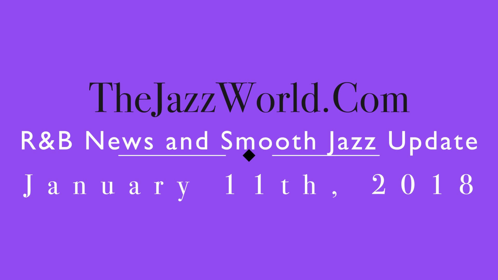 The Jazz World Show 1:11:18