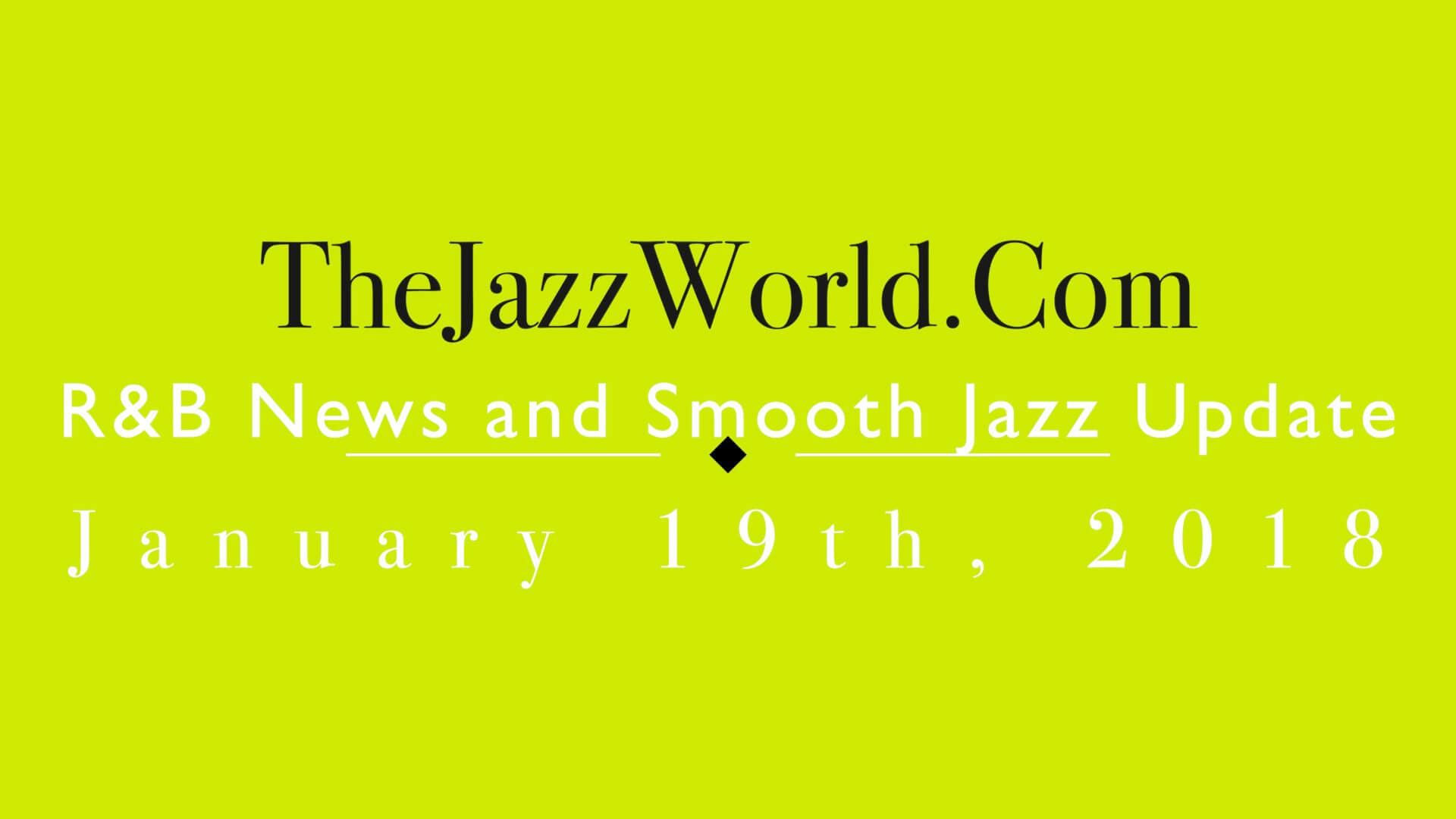 The Jazz World Show 1:19:18