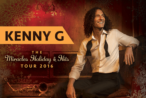 Kenny G Miracles Holidays and Hits Tour