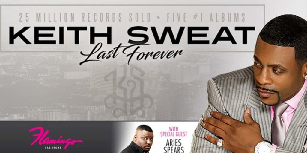 Keith Sweat at the Flamingo Las Vegas