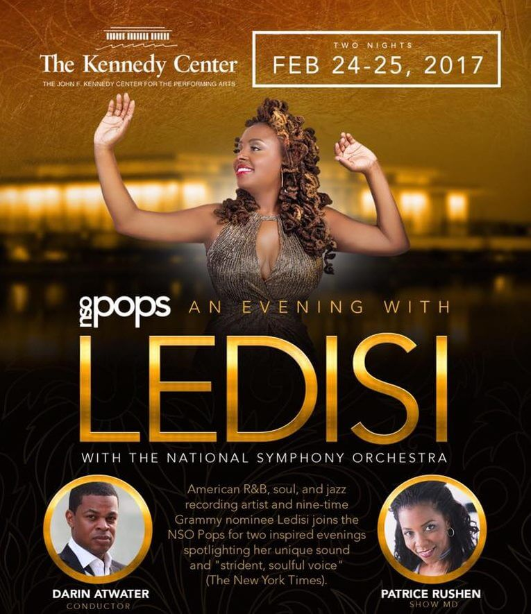 Ledisi and the National Symphony Orchestra Pops