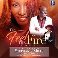 Stephanie Mills in Concert Will Downing