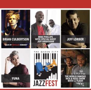 The Queen City Jazz Fest 2017